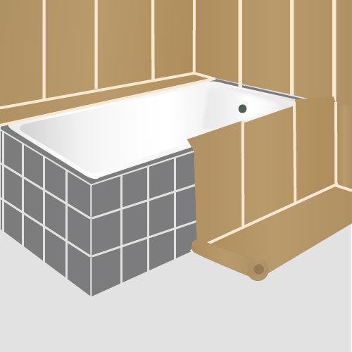 comment peindre une baignoire comment installer une baignoire balno with comment peindre une. Black Bedroom Furniture Sets. Home Design Ideas