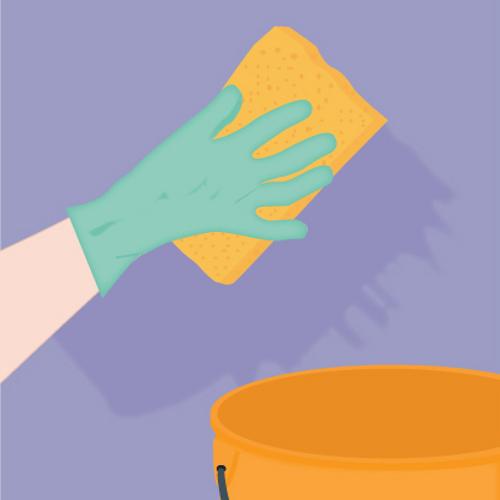 D coller du papier peint les tapes ooreka - Decoller papier peint vinaigre ...