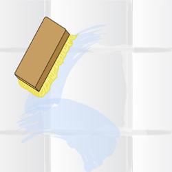 Nettoyer les joints de carrelage de salle de bain