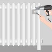 décaper un radiateur - radiateur - Comment Peindre Un Radiateur Sans Le Demonter