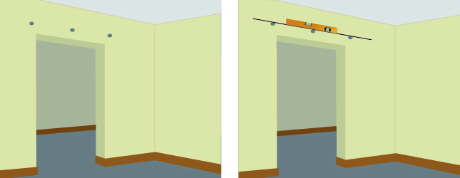 Installer une porte coulissante porte - Dimension porte coulissante interieur ...