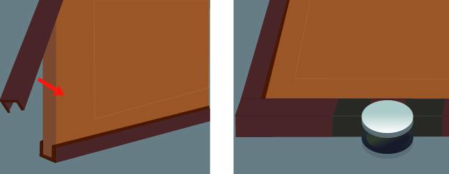 Installer une porte coulissante porte - Installer porte coulissante ...