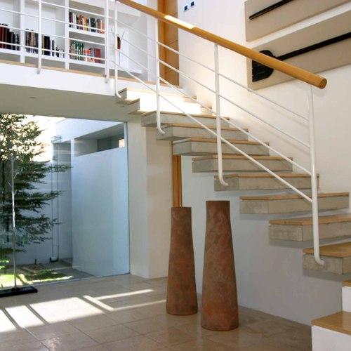 Un Esprit Béton Dans Votre Escalier En Bois Escalier