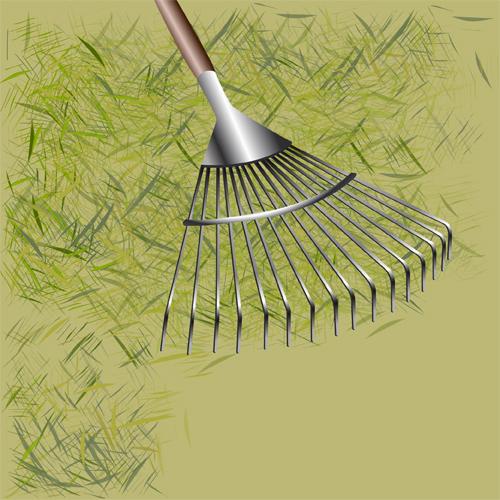 Cas 1 : ramassez l'herbe