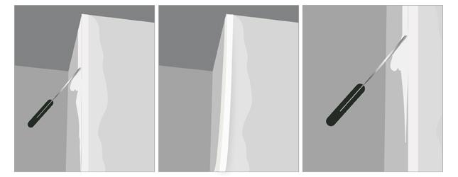 faire des joints de plaques de pl tre. Black Bedroom Furniture Sets. Home Design Ideas