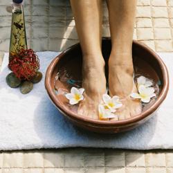 Prévenir et soulager les crevasses aux pieds