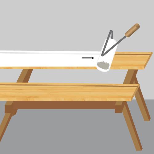 Comment peindre des plinthes en bois Ooreka # Peindre Plinthes Bois Déjà Peintes