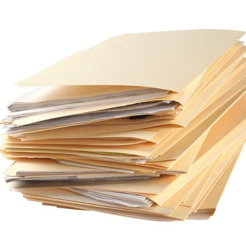 Réunir les documents nécessaires à la signature d'un PACS