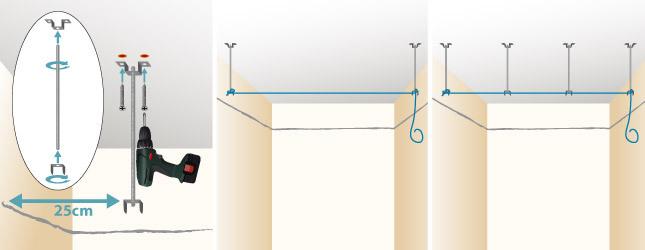 Poser Un Faux Plafond En Plaques De Platre Plafond