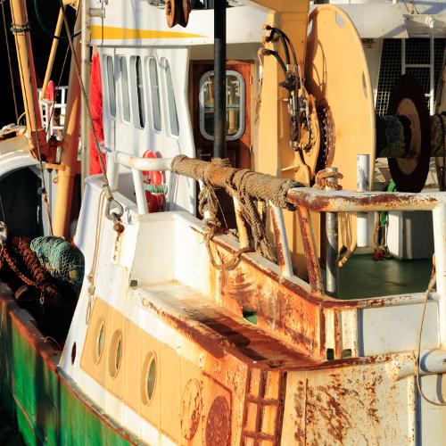 Assurer un bateau de pêche