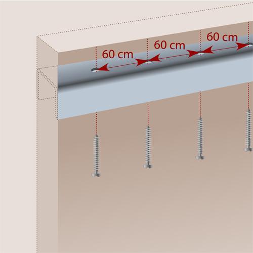 Installer une porte pliante (en bois)