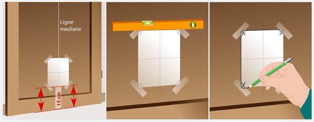 Installation chatiere porte
