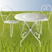 Entretenir un salon de jardin en métal - Aménagement de jardin