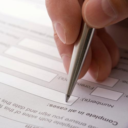 Changer le nom sur un certificat d'immatriculation