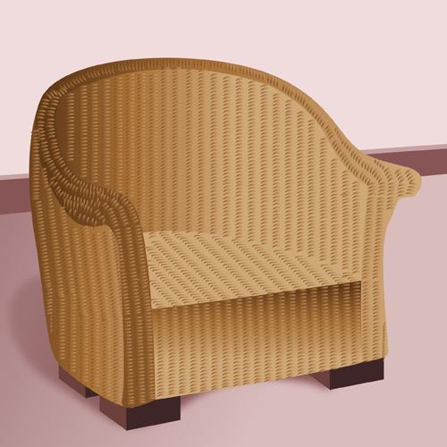 Rénover un meuble en rotin - Aménagement de jardin