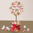 Fabriquer un arbre en bonbons
