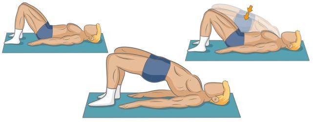 """Résultat de recherche d'images pour """"demi pont yoga"""""""