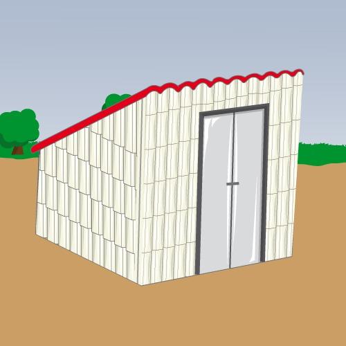 Créer un abri de jardin en PVC