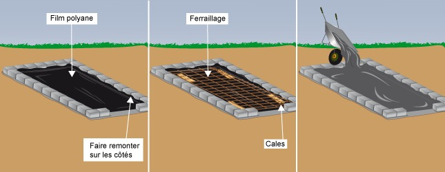 B tir un abri de jardin en parpaing abri de jardin - Dalle beton pour abri de jardin en bois ...