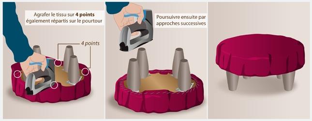 fabriquer un repose pied canap. Black Bedroom Furniture Sets. Home Design Ideas