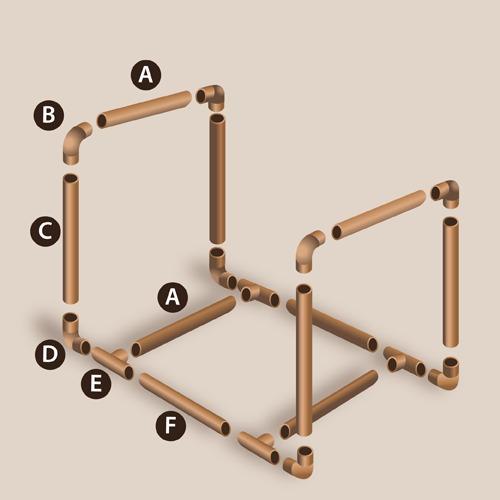Fabriquer un porte b ches po le chemin e for Porte buche interieur