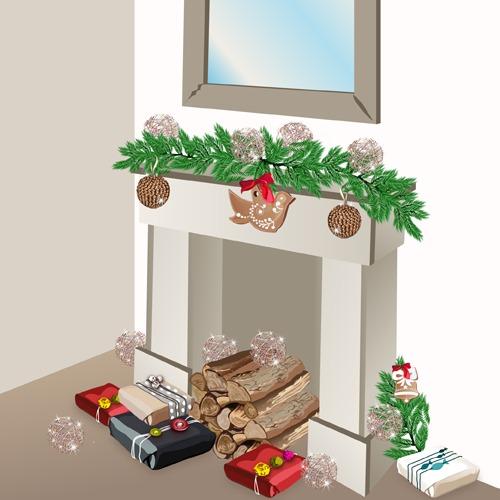 Fabriquer un manteau de cheminée décoratif