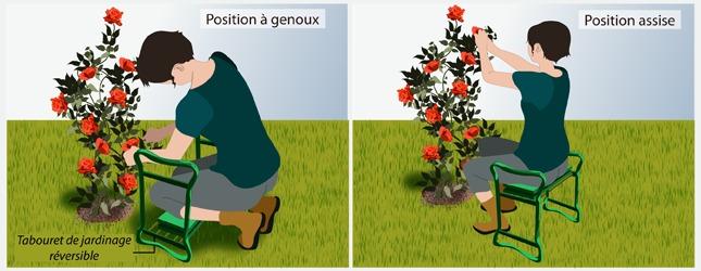jardiner en pr servant son dos jardinage. Black Bedroom Furniture Sets. Home Design Ideas