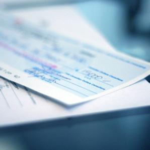 Encaisser un chèque