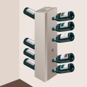 fabriquer un porte bouteilles d coration. Black Bedroom Furniture Sets. Home Design Ideas