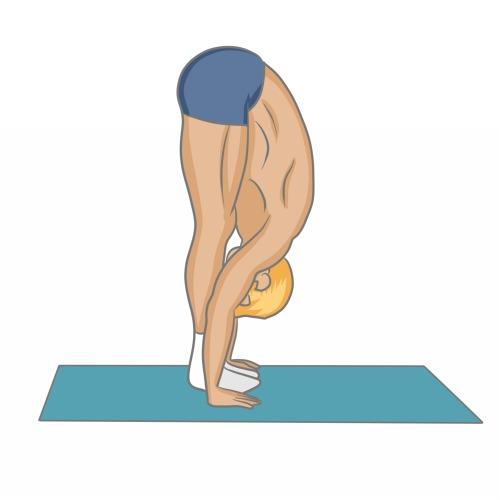 Uttanâsana : la posture de la cigogne