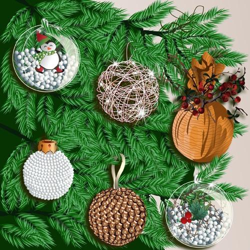 Fabriquer des boules de Noël