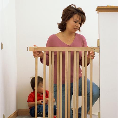 Assurer la sécurité d'un bébé qui commence à se déplacer