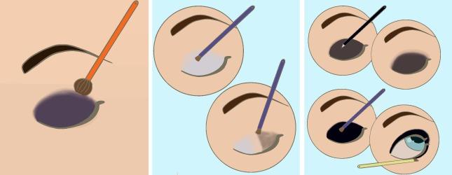 maquiller des yeux bleus soin du corps. Black Bedroom Furniture Sets. Home Design Ideas