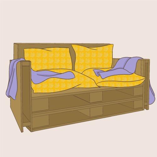 Fabriquer un canapé en palette
