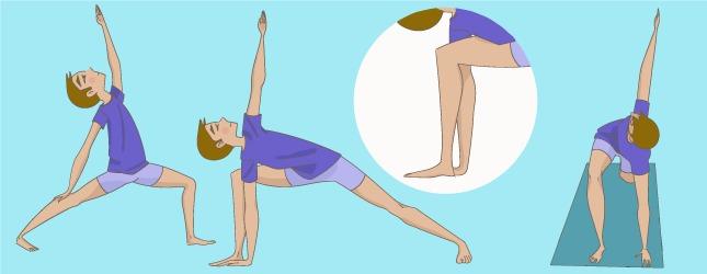 posture yoga guerrier