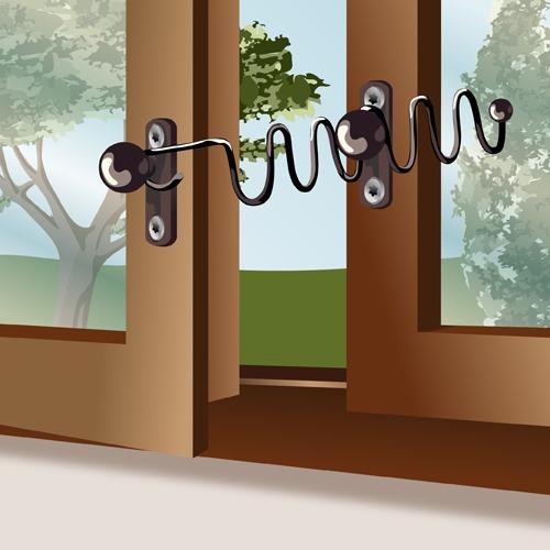 Poser un entrebâilleur de fenêtre