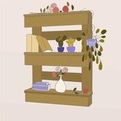 Comment fabriquer une étagère en palette