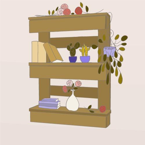 comment fabriquer une tag re en palette. Black Bedroom Furniture Sets. Home Design Ideas