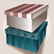 Comment fabriquer une bo te de rangement en carton - Fabriquer des boites de rangement ...