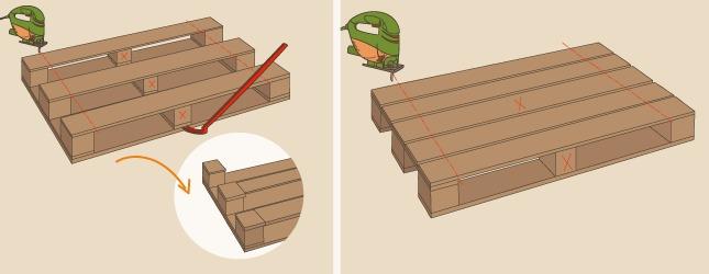 Comment fabriquer une desserte de jardin en palette for Moulin en bois pour jardin