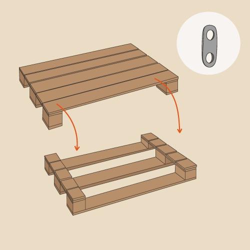 comment fabriquer une desserte de jardin en palette. Black Bedroom Furniture Sets. Home Design Ideas