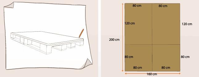 Comment faire un lit en palette - Comment fabriquer un sommier ...