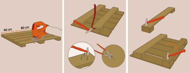 Bien-aimé Comment faire un lit en palette CN34