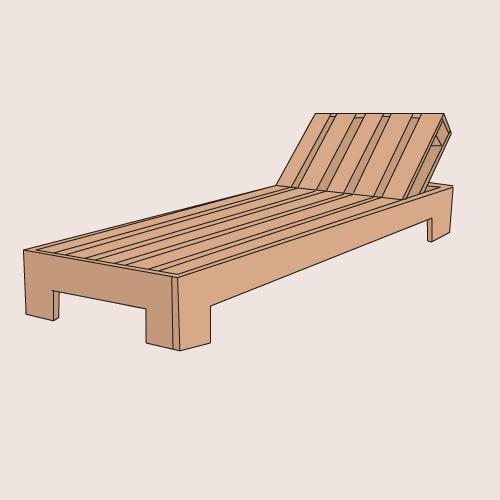 Plan de chaise en bois gratuit maison design - Plan de chaise longue en bois ...