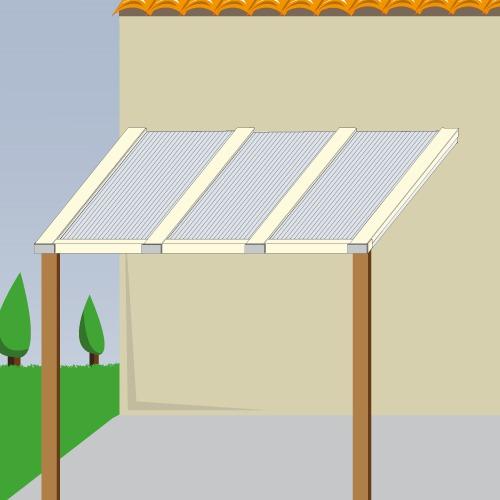 Poser des panneaux de polycarbonate