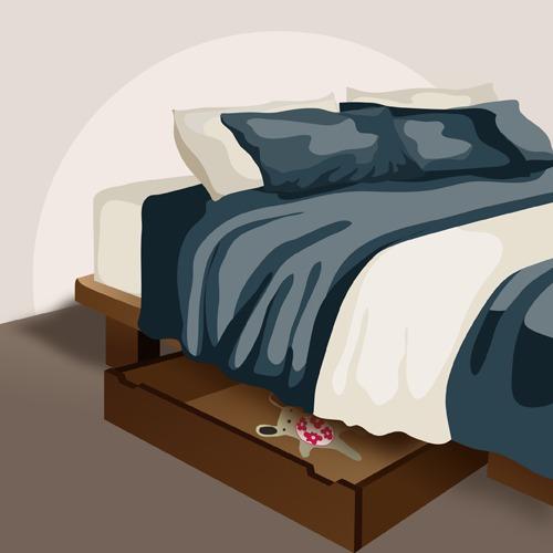 Fabriquer un tiroir de lit