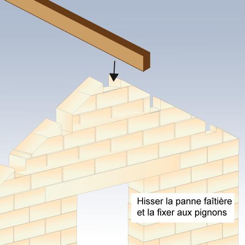 Comment construire un toit 2 pentes pour abri de jardin - Toit pour abris de jardin ...