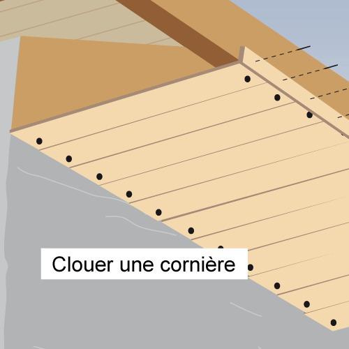 comment poser des dessous de toit en bois. Black Bedroom Furniture Sets. Home Design Ideas