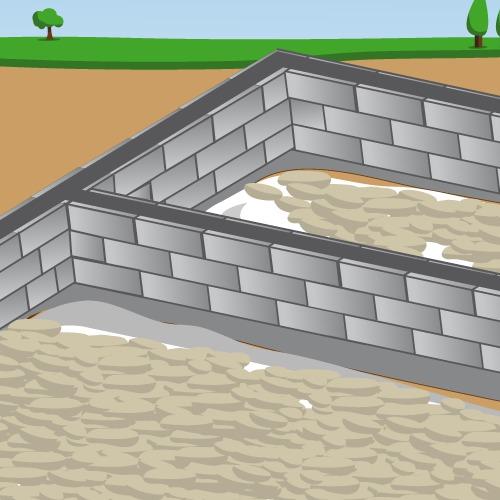 Réaliser le terrassement et les fondations d'une maison en bois