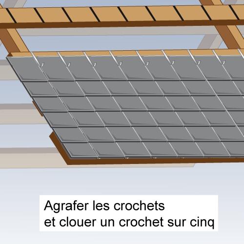 comment poser des ardoises sur un toit. Black Bedroom Furniture Sets. Home Design Ideas